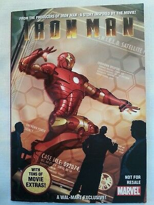 Iron Man SECURITY MEASURES - FIRST App. Shield AGENT COULSON RARE Walmart Promo!