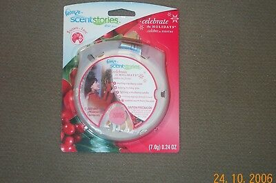 Febreze Scentstories Disc Celebrate the Holidays  New  (also fits Yankee Candle)