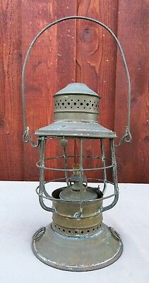 Antique Perko Brass Ships Lantern Brooklyn, N.Y.