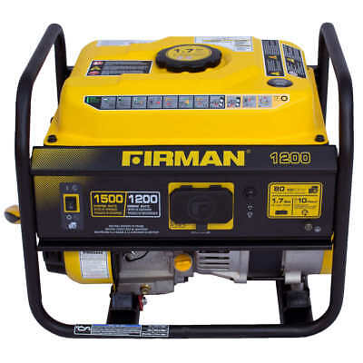 Firman 1500 W Gas-powered Extended Run Time Portable Generator FREE Shipping