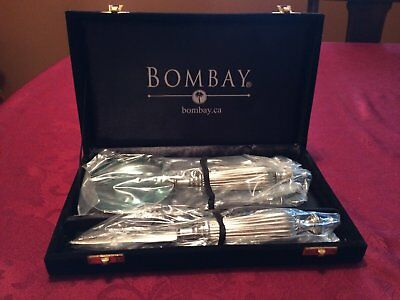 Bombay Magnifying Glass & Letter Opener in Black Velvet Case