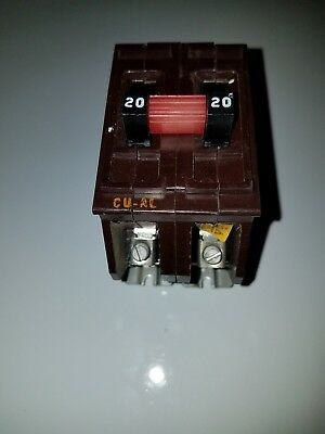 20A Wadsworth 20 Amp Double Pole Circuit Breaker