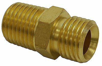 Hot Max 28100 1/4-inch male NPT x 1/4-inch male NPT with ball socket