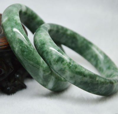New Natural Chinese jade hand-carved bracelet,beautiful bangle Size: 62-63mm