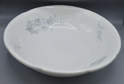 Antique Ironstone White Wash Basin Bowl E.L.P. Co East Liverpool Pottery England