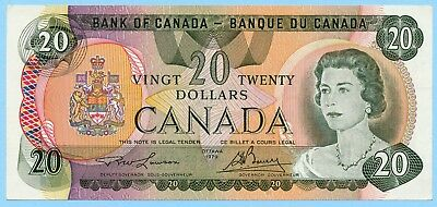 1979  $20 Bank of Canada Lawson-Bouey **UNC** BC-54a P93a 50074176294