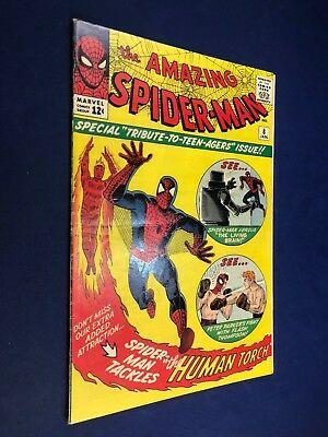 Amazing Spider-Man #8 (1963 Marvel Comics) 1st appearance of The Living Brain
