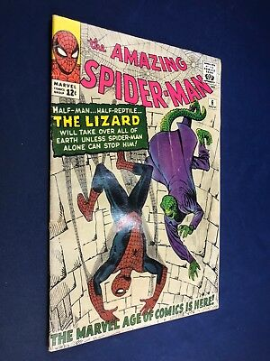 Amazing Spider-Man #6 (1963 Marvel) 1st appearance of the Lizard NO RESERVE