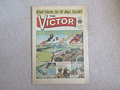 THE VICTOR COMIC No 280 - JULY 2nd 1966 - THE BATTLE FOR THE BRIDGE