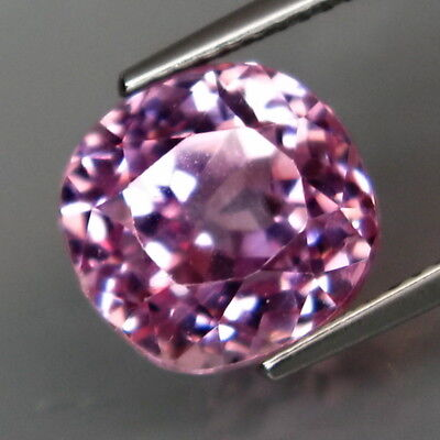 8.02Ct.Ravishing Color&Full Sparkling! Natural Brazillian Pink Kunzite