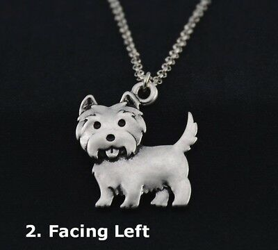 Cairn Terrier Necklace Facing LEFT, NWOT