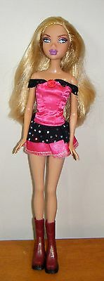 My Scene Juicy Bling Kennedy 32 cm fashion doll in different clothes - used