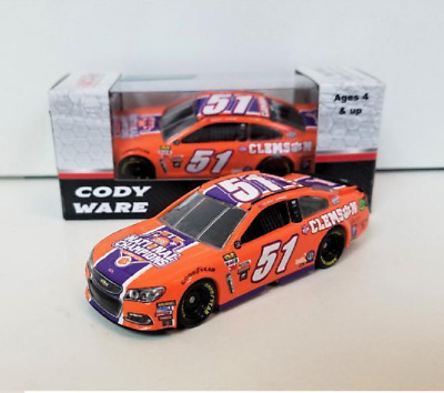 New 2017 Cody Ware #51 Clemson Tigers National Champions 1/64 Car