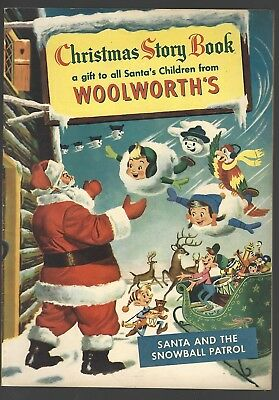Woolworth's Christmas Story Book Of 1953 Comics, Vintage Ads, Toys & More!