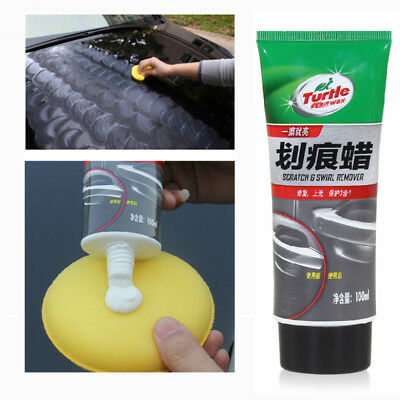 100ml Turtle Wax Color Magic Car Paint Polish Care G-239R 4.5oz Hides Scratche
