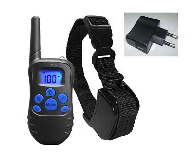 Waterproof Rechargeable Remote LCD 100LV Electric Pet Dog Training Shock Collar