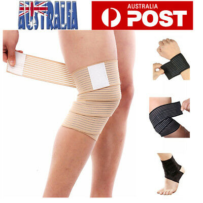 Elastic Breathable Wrap Ankle Support Brace Compression Knee Elbow Wrist Straps