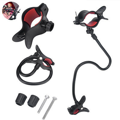 Stable Adjustable Handfree Water Milk Bottle Clip Holder For Baby Strollers Bed