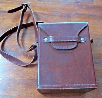 Leather Carry Case , as new