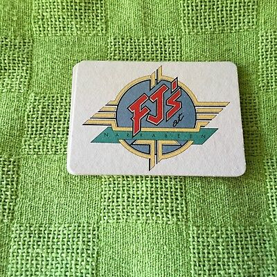 """Collectable drink coaster-""""FJ'S AT NARRABEEN"""" PRISTINE CONDITION"""