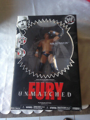 WWE Mr Kennedy Platinum Collectors Action Figure Fury Unmatched