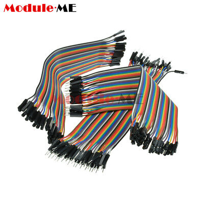 120pcs Dupont Wire Male to Male + Male to Female+Female to Female Jumper Cable