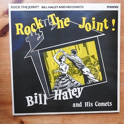 """Bill Haley and His Comets - Rock the Joint! 10"""" vinyl (1979) NM/NM"""