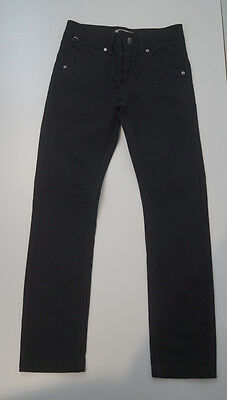 BURBERRY Boy's Black Cotton Blend Casual Jeans Trousers Age: 8 Yrs