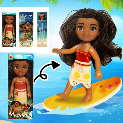 New 16cm Moana Princess Adventure Characters Action Figure Doll Toy Kids Gifts