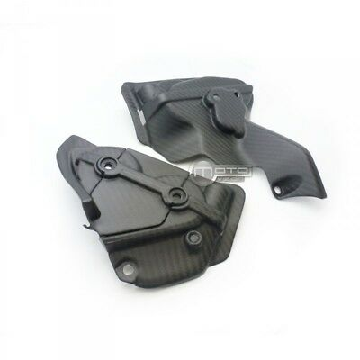 Caches courroies carbone mat Ducati 899 1199 1299 Panigale