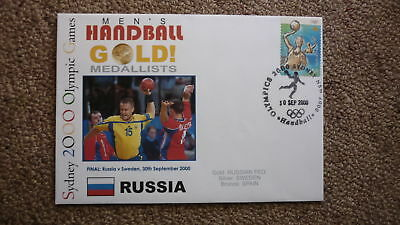 Russia Mens Handball 2000 Olympic Games Gold Medal Win Cover