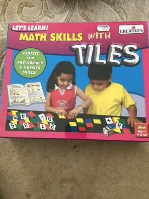 Maths Skills With Tiles Educational Game