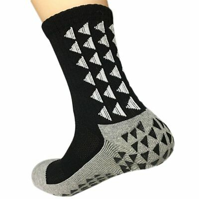 Football Sports Socks Anti-Slip Multi Color Triangle Yout Men Crew Athletic