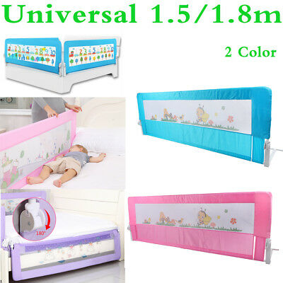 Universal Folding Toddlers Bed Rail Kid Protection Sleep Guard Safety