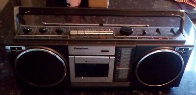 Retro Panasonic Radio Cassette Player RX-4933L (See Description)