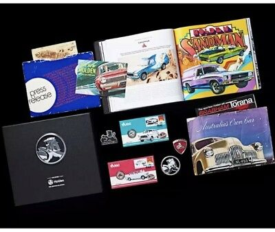The 2017  Holden Archives Collection With Ultra Rare  Limited Pncs & Badges  #48