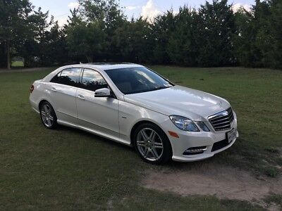 2012 Mercedes-Benz E-Class Luxury 2012 Mercedes E350 DIESEL