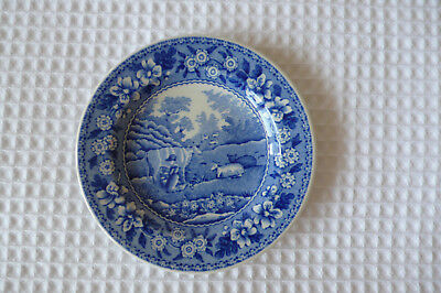 Spode Mini Blue Room Collection Milkmaid Dish  Made In England 8Cm