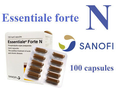 ESSENTIALE FORTE N 300mg - 100 capsules Liver Support Protection registered mail