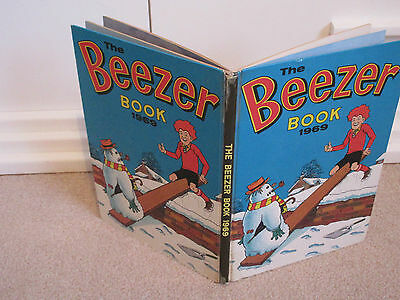 THE BEEZER BOOK 1969 -Good Condition-Silver Age