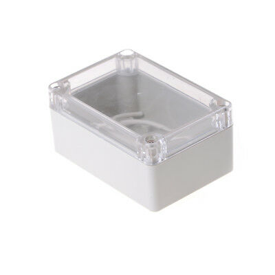 100x68x50mm Waterproof Cover Clear Electronic Project Box Enclosure Case UK SSTd