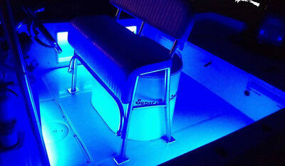 2Pcs Blue  Marine Led Light Courtesy /& Utility Strip for Boats 12 Volts
