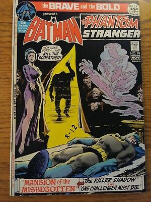 The Brave and the Bold #98 (Oct-Nov 1971, DC) VF/NM. Batman.