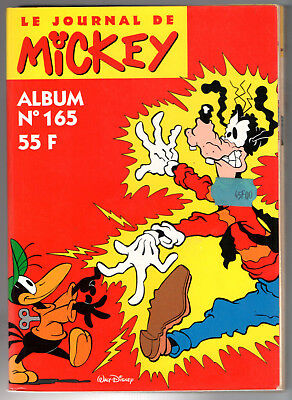 ALBUM LE JOURNAL DE MICKEY n°165 ¤ n°2216 à 2225 ¤ + VIGNETTE PANINI POSTER