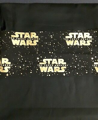Gold star wars school chair bag free first name free postage