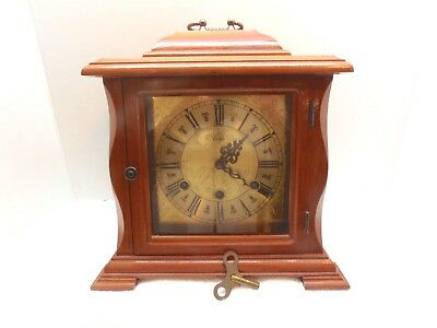 VERY NICE!!!  Eska Westminster chiming Carriage type Mantle Clock!!!