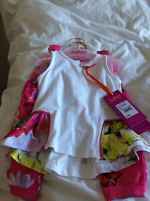 Ted Baker Baby Girls Outfit Age 0-3 Months brand new with tags never worn