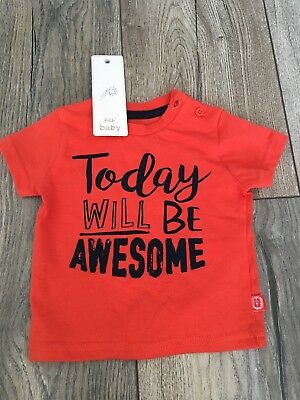 Boys T Shirt Up To 3 Months