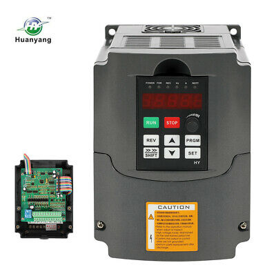 NEW! 2.2KW 220V Variable Frequency Drive Inverter VFD 10A 3HP  CNC