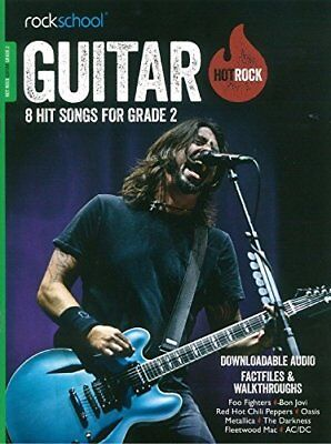 Rockschool: Hot Rock Guitar - Grade 2 (Book/Online Audio),PB,Various - NEW